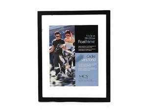 Solid Wood Float Frame black 11 in. x 14 in.