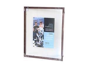 Solid Wood Float Frame walnut 16 in. x 20 in.