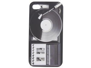 Flash iPhone 4/4S Hard Shell Cover- Turntable