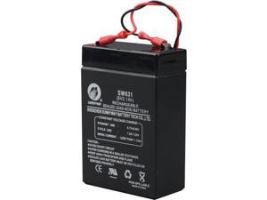 K14139 HONEYWELL INTRUSION 6V,3.1AH SLA BATTERY