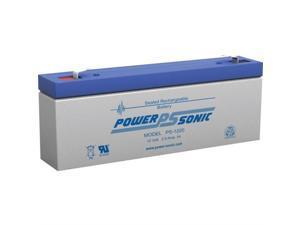 1200202602 POWER-SONIC 12V 2.5AH SLA BATTERY F1