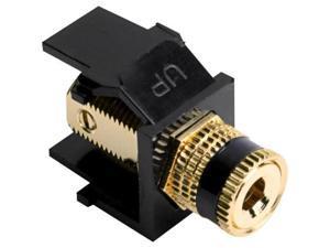 40833-BEE LEVITON TELCOM QUICK PORTS BLACK SNAP/BLK STP