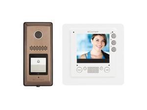 "HFX-720MS COMELIT USA VIDEO INTERCOM KIT WITH 3.5"""