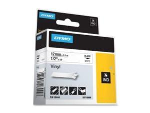 "DYMO by Pelouze 18444 1/2"" WH - VINYL LABEL ( for ALL Models )"