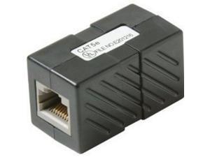 Steren Electronics Intl 310039BK Cat5e Coupler black