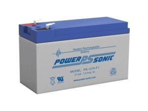 Power Sonic PS1270F1 12V 7AMP HOUR BATTERY
