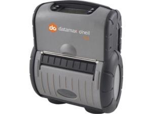 Datamax-Oneil Rl4 Direct Thermal Printer - Monochrome - Portable - Label Print - 4.13 Inch Print Width - Peel Facility - 4 In/S Mono - 203 Dpi - 64 Mb - Wireless Lan - Usb - Serial - Lcd - 4.12 Inch
