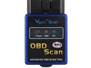 Mini Bluetooth OBD Car Failure Detection Adapter (Blue)