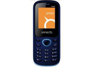 Unnecto U-140-1NA Primo Blue Unlocked QuadBand GSM Cell Phone- US Warranty- 2G: GSM 850 / 900 / 1800 / 1900