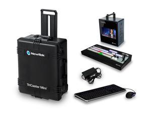 NewTek TriCaster Mini HD-4i and Mini CS Bundle with Shipping Case