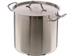 Stock Pot, 16 Qt Stainless Steel, GIFT BOXED