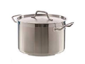 Stock Pot, 20 Qt Stainless Steel, GIFT BOXED