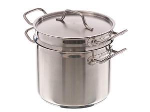 Update International Double Boiler, 8 Qt Stainless Steel, GIFT BOXED
