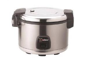 Winco Advanced Electric Rice Cooker/Warmer with Hinged Cover, 30 Cups