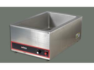 Winco Electric Food Warmer, 1200W, Stainless Steel
