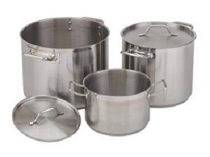 Stock Pot, 32 Qt Stainless Steel W/ Cover