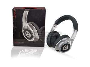 Beats by Dr. Dre - Executive Over-the-Ear Headphones - Silver - 810-00050