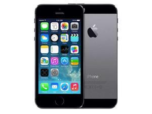 "APPLE IPHONE 5S 4"" RETINA ME344LL/A 32GB VERIZON + GSM FACTORY UNLOCKED SPACE GRAY - GRADE A"