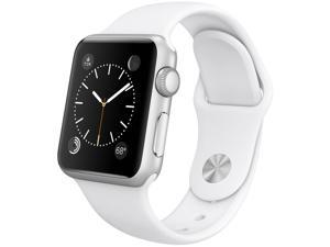 Apple Watch Sport MJ2T2LL/A - 38mm Silver Aluminum Case with White Sport Band