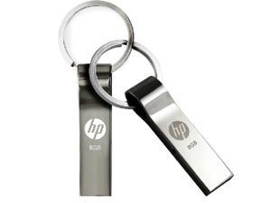 HP v285w 8GB Metal USB Flash Drive 8gb flash memory disk with Key Ring