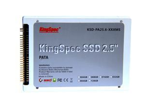 KingSpec 128GB 2.5'' PATA IDE 4C 44PIN MLC SSD 128 GB Solid State Drive for IBM T40 T41 T42