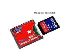 New Arrival SDXC SDHC WIFI SD to Type I Compact Flash Card Adapter CF ADAPTER