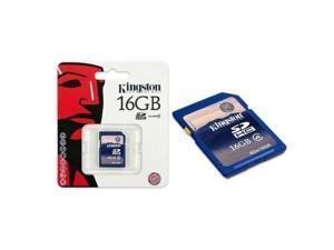 Kingston 16GB 16G 16 GB Class 4 C4 SD SDHC Memory Card  HK148-NE3