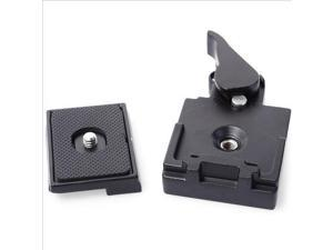 Quick Release Plate Clamp for Manfrotto 200PL-14 QR Plate Camera Tripod DC465
