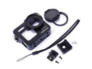 Aluminium Protective Case Housing Shell +37mm UV Filter for GoPro Hero 3 3+ OS073