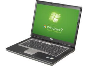 Dell Latitude D531 Laptop Notebook - Dual Core 1.8GHz - 1GB DDR2 - 40GB - DVD+CDRW - Windows 7 Home Premium