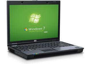 HP 6510b Laptop Notebook - Core 2 Duo 1.8GHz - 1GB - 80GB HDD - DVD+CDRW - Win 7 Home Premium 32bit