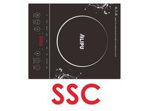 Induction Countertop Cooker Cooktop 120V 1500W, ETL Approval, Single Sensor