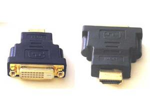 HDMI MALE TO DVI-I DUAL LINK FEMALE HDTV PLASMA ADAPTER