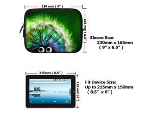 7 inch Tablet eBook Carrying Case Sleeve for iPad Mini Galaxy Nexus Kindle 2721
