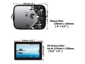 7 inch Tablet eBook Carrying Case Sleeve for iPad Mini Galaxy Nexus Kindle 2252