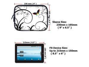 7 inch Tablet eBook Carrying Case Sleeve for iPad Mini Galaxy Nexus Kindle 715