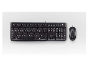 Logitech MK120 Desktop USB Wired Keyboard & Mouse