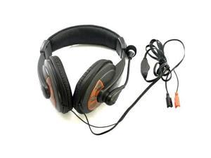 NEW COMPUTER PC LAPTOP HEADPHONE Corded HEADSET MICROPHONE MIC