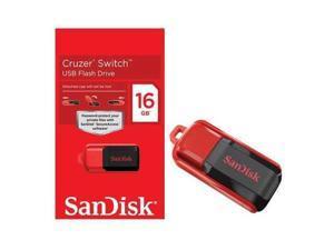 16GB Cruzer SWITCH USB Flash Pen Drive SDCZ52-016-A11 16 G RETAIL PK