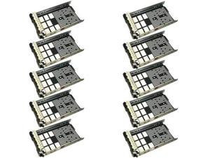 Lot 10pcs New 3.5 SAS Tray Caddy for Dell Sled G302D R410 F238F 0F238F X968D