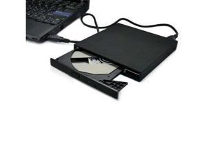 USB External Slim Laptop DVD Burner RW Enclosure Case Canddy +Free CD ROM drive