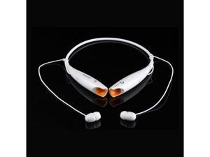 Bluetooth Wireless Sports Stereo Headset for iPhone 7 Plus HTC Samsung Galaxy LG / white