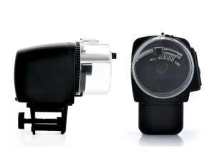 Aquarium Automatic Fish Feeder with LCD Display (Moisture-proof, Anti-Jam Design)
