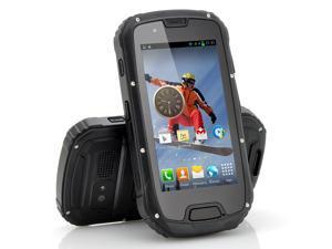 Utor - 4.3 Inch Rugged Quad Core Android 4.2 Phone (Black, IP67 Waterproof, 1.2GHz CPU, 1GB RAM, 8MP Camera)