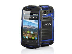 Atlas-N1 - 3.5 Inch Rugged Android Phone (Water Resistant, Shockproof, Dust Proof, Blue)