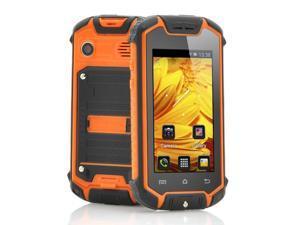Nanex - Mini Waterproof Android Smartphone (Dual SIM, 2.45 Inch Screen, Orange)