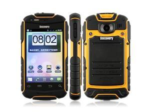 V5 Shockproof Android 2.3 Wi-Fi 3.5 Inch Capacitive Screen Smart Phone (Yellow)