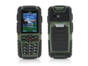 Jinhan A81 2 Inch Rugged Cell Phone (Waterproof, Dust Proof, Shockproof, Green)