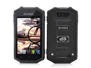 4 Inch Rugged Android Phone (Dual Core 1.3GHz CPU, Waterproof, Shockproof, Dust Proof, Black)