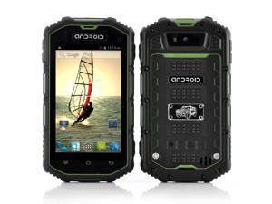 4 Inch Rugged Android Phone (Dual Core 1.3GHz CPU, Waterproof, Shockproof, Dust Proof, Green)